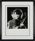 Music Memorabilia:Autographs and Signed Items, Led Zeppelin - Jimmy Page Signed Photo (1988)....