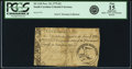 Colonial Notes:South Carolina, South Carolina November 15, 1775 2 Pounds. Fr. SC-110. PCGS Fine 15Apparent.. ...