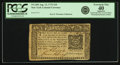 Colonial Notes:New York, New York August 13, 1776 $10 Fr. NY-205. PCGS Extremely Fine 40 Apparent.. ...