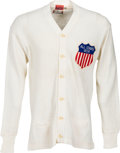 Football Collectibles:Uniforms, 1958 Jerry Kramer College All Stars Sweater....