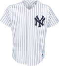 Baseball Collectibles:Uniforms, 1990's Bobby Murcer Game Worn New York Yankees Old-Timers' Day Jersey from The Bobby Murcer Collection. ...