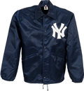 Baseball Collectibles:Others, 1970's Bobby Murcer Game Worn New York Yankees Jacket from TheBobby Murcer Collection. ...