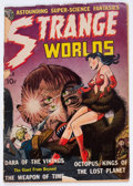 Golden Age (1938-1955):Science Fiction, Strange Worlds #2 (Avon, 1951) Condition: FR....