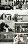 Books:Prints & Leaves, [Cemeteries]. Archive of Fifteen Photographs Relating to Cemeteries....