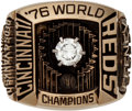 "Baseball Collectibles:Others, 1976 Cincinnati Reds World Series Championship Ring Presented to Charles ""Chub"" Feeney...."