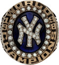 Baseball Collectibles:Others, 1998 New York Yankees World Series Championship Ring Presented to Bobby Murcer....
