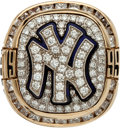 Baseball Collectibles:Others, 1999 New York Yankees World Series Championship Ring Presented toBobby Murcer....