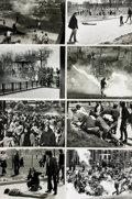 Books:Prints & Leaves, [Kent State]. Archive of Sixteen Photographs and Press PrintsRelating to the Kent State Shootings....