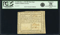 Colonial Notes:Virginia, Virginia March 1, 1781 $80 Thick Paper. Fr. VA-205b. PCGS About New50 Apparent.. ...