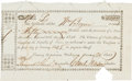 Miscellaneous, [William Bryan]. Auditor's Certificate Issued to William Bryan....