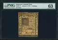 Colonial Notes:Delaware, Delaware January 1, 1776 5s PMG Choice Uncirculated 63.. ...