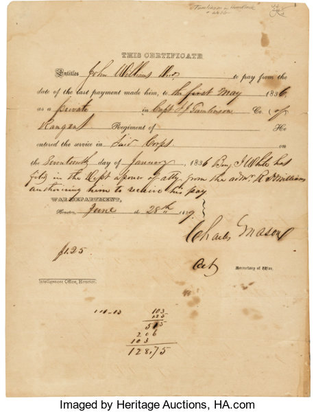 pay certificate issued to the estate of