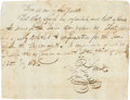 Autographs:Military Figures, Philip Dimmitt Document Signed. ...