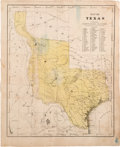 Miscellaneous:Maps, Map of Texas to Illustrate Olney's School Geography....