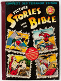 Golden Age (1938-1955):Religious, Picture Stories from the Bible Complete Old Testament Edition (EC,1943) Condition: FN....