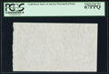 Fractional Currency:First Issue, CSA Watermarked Paper - Single Block. PCGS Superb Gem New 67PPQ.. ...