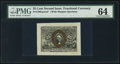 Fractional Currency:Second Issue, Fr. 1283SP 25¢ Second Issue Wide Margin Face PMG Choice Uncirculated 64.. ...