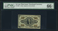 Fractional Currency:Third Issue, Fr. 1255 10¢ Third Issue PCGS Gem Uncirculated 66 EPQ.. ...