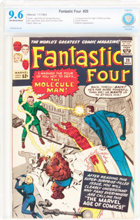 Fantastic Four #20 (Marvel, 1963) CBCS NM+ 9.6 Off-white to white pages