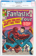 Silver Age (1956-1969):Superhero, Fantastic Four #42 (Marvel, 1965) CGC NM+ 9.6 Off-white to white pages....