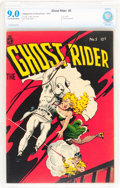 Golden Age (1938-1955):Western, Ghost Rider #5 (Magazine Enterprises, 1951) CBCS VF/NM 9.0 Cream tooff-white pages....