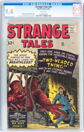 Silver Age (1956-1969):Science Fiction, Strange Tales #95 (Marvel, 1962) CGC NM 9.4 White pages....