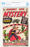 Silver Age (1956-1969):Superhero, Journey Into Mystery #83 (Marvel, 1962) CBCS VG/FN 5.0 Off-white towhite pages....