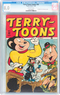 Golden Age (1938-1955):Funny Animal, Terry-Toons Comics #50 (Timely, 1946) CGC VF 8.0 Off-whitepages....