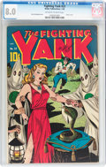 Golden Age (1938-1955):Superhero, Fighting Yank #23 (Nedor Publications, 1948) CGC VF 8.0 Off-whiteto white pages....
