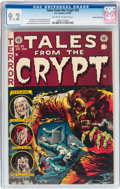 Golden Age (1938-1955):Horror, Tales From the Crypt #35 Gaines File Pedigree 10/11 (EC, 1953) CGCNM- 9.2 Off-white to white pages....