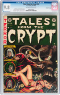 Golden Age (1938-1955):Science Fiction, Tales From the Crypt #32 Gaines File Pedigree 11/12 (EC, 1952) CGCNM/MT 9.8 Off-white to white pages....