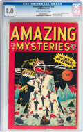 Golden Age (1938-1955):Horror, Amazing Mysteries #32 (Marvel, 1949) CGC VG 4.0 Cream to off-whitepages....