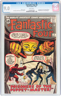 Silver Age (1956-1969):Superhero, Fantastic Four #8 (Marvel, 1962) CGC VF/NM 9.0 White pages....