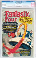 Silver Age (1956-1969):Superhero, Fantastic Four #3 (Marvel, 1962) CGC VF/NM 9.0 Off-white to whitepages....
