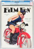 Platinum Age (1897-1937):Miscellaneous, Film Fun #548 December 1934 (Film Fun Publishing Co., 1934) CGCVF/NM 9.0 White pages....