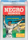 Golden Age (1938-1955):Non-Fiction, Negro Heroes #2 (Parents' Magazine Institute, 1948) CGC VF+ 8.5Off-white to white pages....
