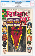 Silver Age (1956-1969):Superhero, Fantastic Four #54 (Marvel, 1966) CGC NM+ 9.6 White pages....