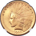 Indian Eagles, 1911 $10 MS68 NGC....