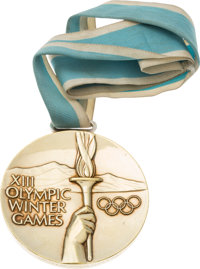 """1980 U.S. Hockey """"Miracle on Ice"""" Olympic Gold Medal Presented to Dave Christian"""