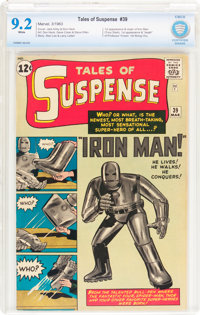 Tales of Suspense #39 (Marvel, 1963) CBCS NM- 9.2 White pages