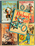 Books:Children's Books, L. Frank Baum. Group of Five Reprint Edition OZ Books.Chicago: Reilly & Lee, [n.d., Circa 1923 - 1330].... (Total: 5Items)