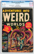 Golden Age (1938-1955):Horror, Adventures Into Weird Worlds #3 (Atlas, 1952) CGC FN+ 6.5 Off-whitepages....