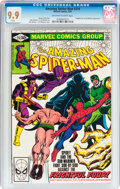 Modern Age (1980-Present):Superhero, The Amazing Spider-Man #214 (Marvel, 1981) CGC MT 9.9 Off-white towhite pages....