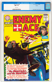 Showcase #58 Enemy Ace (DC, 1965) CGC NM+ 9.6 White pages