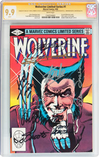 Wolverine #1 Signature Series (Marvel, 1982) CGC MT 9.9 White pages