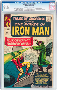 Tales of Suspense #54 (Marvel, 1964) CGC NM+ 9.6 Off-white to white pages