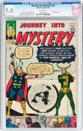 Silver Age (1956-1969):Superhero, Journey Into Mystery #94 (Marvel, 1963) CGC NM 9.4 White pages....
