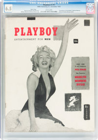 Playboy #1 Page 3 Copy (HMH Publishing, 1953) CGC FN+ 6.5 White pages