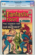 Silver Age (1956-1969):Superhero, Fantastic Four #27 Pacific Coast Pedigree (Marvel, 1964) CGC NM/MT9.8 Off-white to white pages....