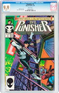 Modern Age (1980-Present):Superhero, The Punisher #1 (Marvel, 1987) CGC MT 9.9 White pages....